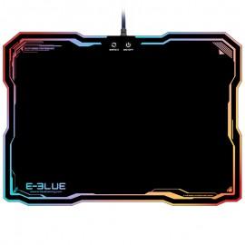 Tapis de souris Gamer avec rétro-éclairage multicolore - E-BLUE - EMP013BKAA-IU
