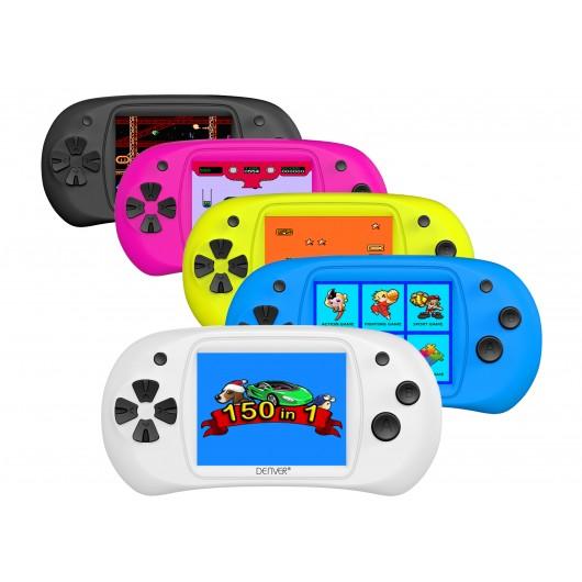Console de jeu avec 150 jeux Arcades - DENVER GMP-240C
