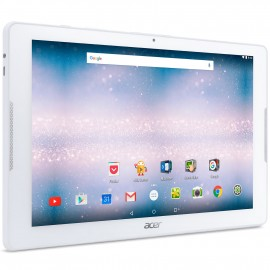 """Tablette ACER Iconia One 10 – 10,1"""" -  Android 7.0 - IPS HD – Stockage 16 Go - RAM 1 Go – Blanc"""