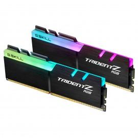Mémoire G.Skill - Trident Z RGB 32 Go (2x 16 Go) DDR4 3200 MHz CL16