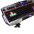 Clavier Mécanique Gamer - Clavier Gaming avec Blue Switch - LED Rétro-éclairé - Structure Alu -  E-BLUE - EKM729 - AZERTY