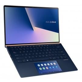 PC Portable ASUS Zenbook UX434FA-A9103T - 14'' Full HD - Core i5-10210U - SSD 512 Go - RAM 8 Go - Intel UHD - Pavé num - Win 10